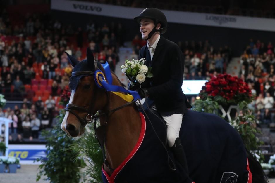 Erik Nordström ensam nolla i Young Rider cup