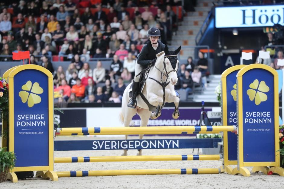 Tilda Törnberg vann Sverigeponnyn