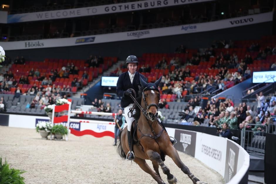 Douglas Lindelöw 1,50-tvåa i Göteborg