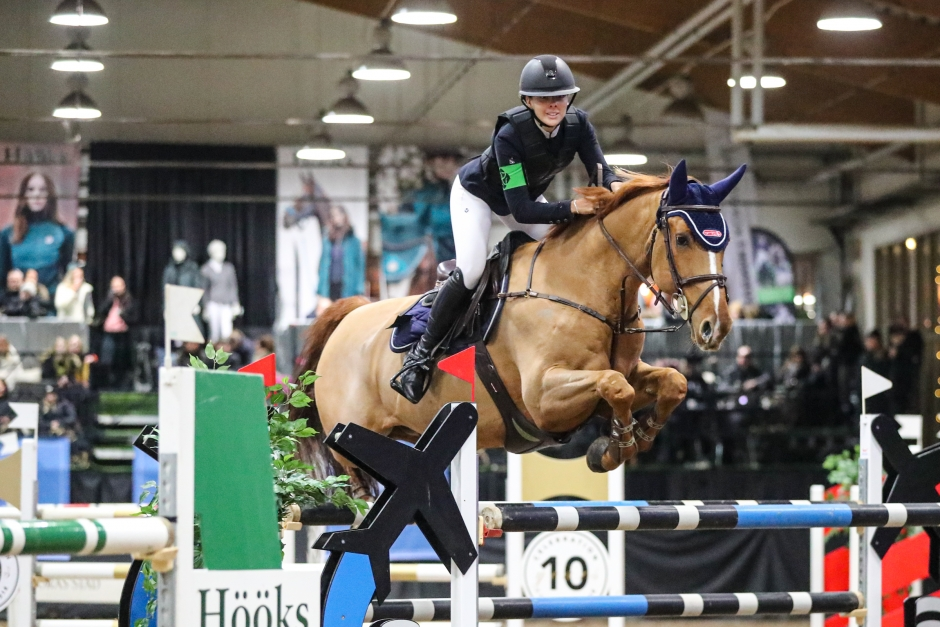 Janelle Larsson vann kvalet i GHS Young Rider Cup