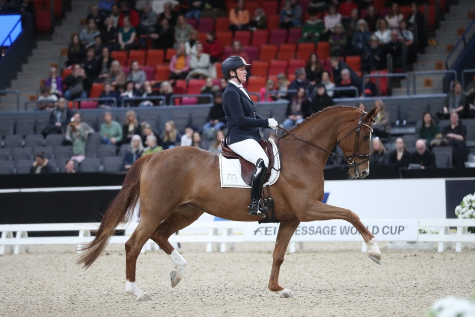 Rutinerade Marika Martinsson gjorde debut på GHS