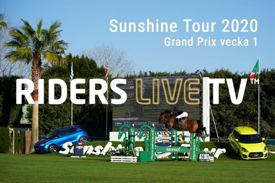 RidersLiveTV: Höjdpunkter från helgens GP på Sunshine Tour