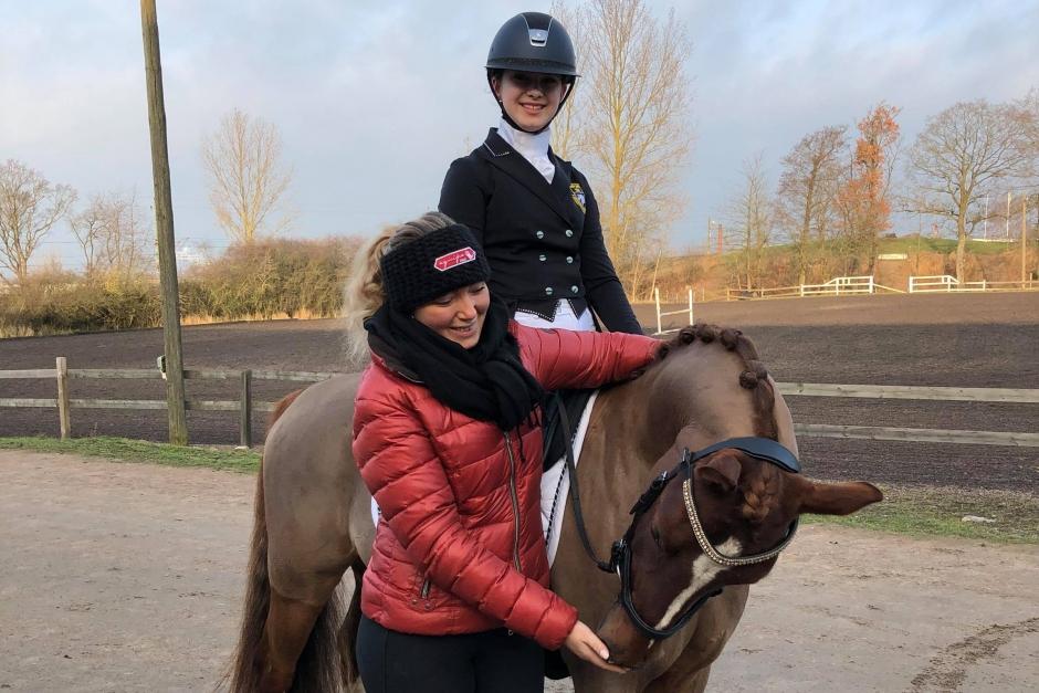 Emma Kåberg säljer sin NM-ponny