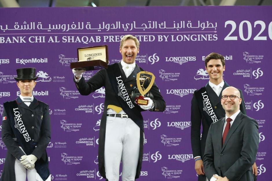 Patrik Kittel vann även küren i Doha