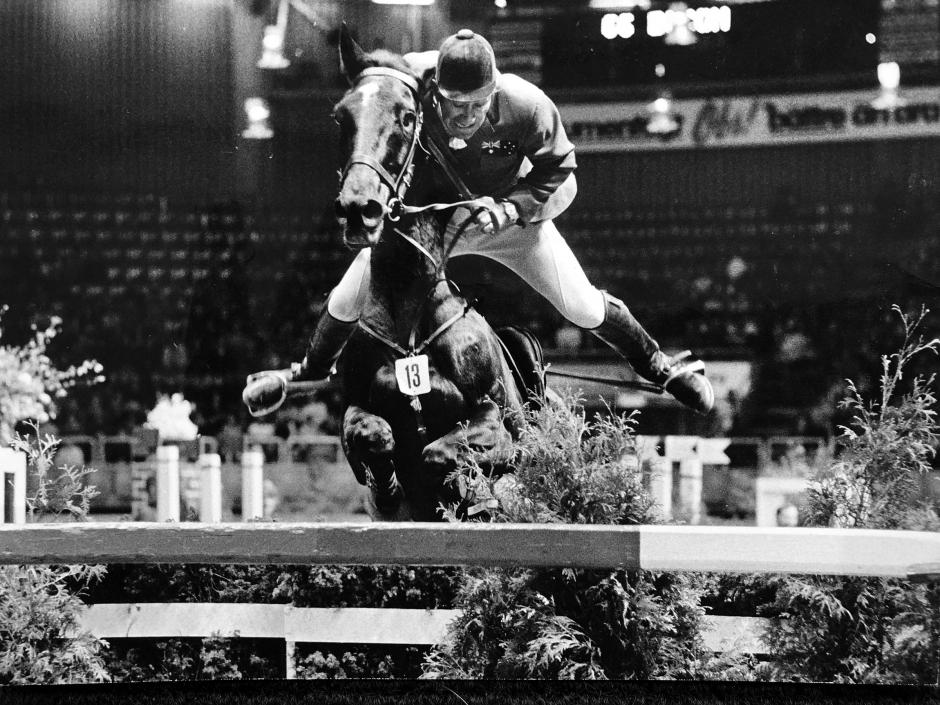 OS-ryttaren Kevin Bacon är död