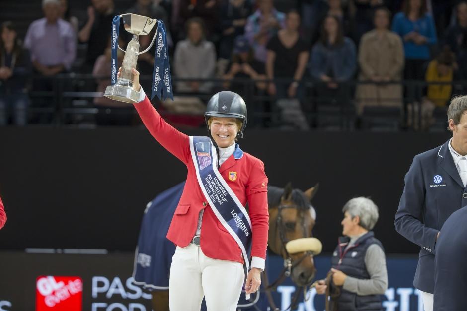 Beezie Maddens OS-häst till Jennifer Gates