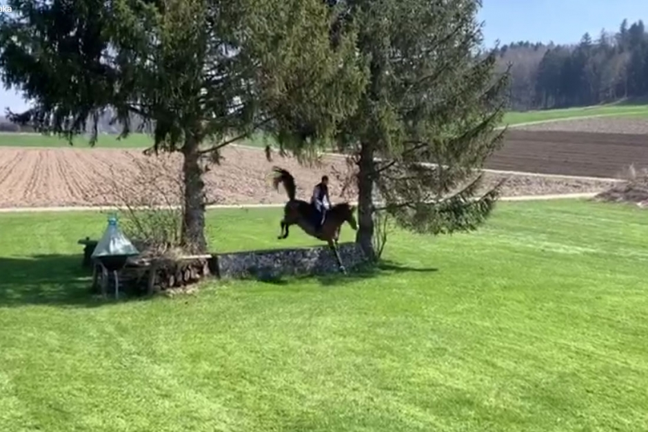 Kolla klippet: Steve Guerdat luftar Bianca över terränghinder