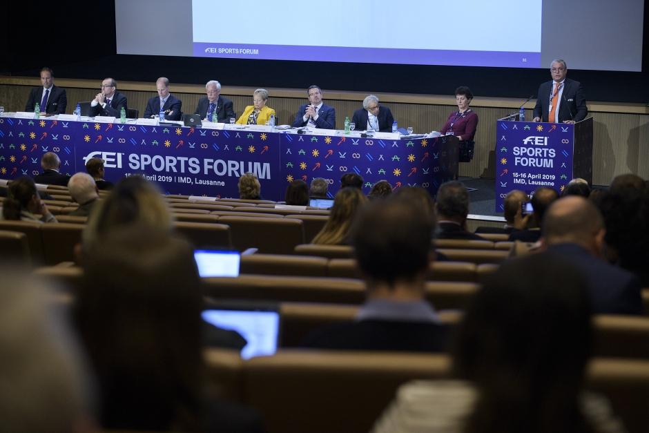 FEI ställer in Sports Forum helt