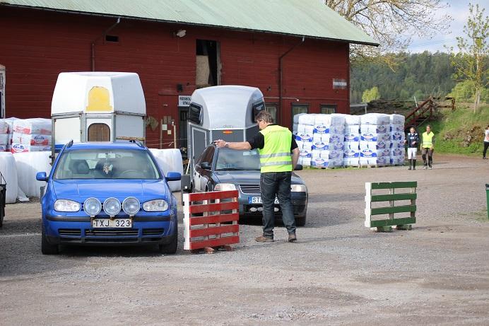 200530 Tävling Tävlingsplats Parkering Funktionär Fotojeanette Flensburg Mindre