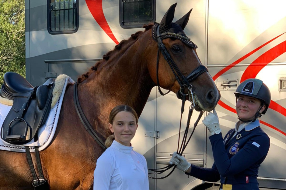 Cecilia Bergåkra på prispallen igen efter helvetestiden
