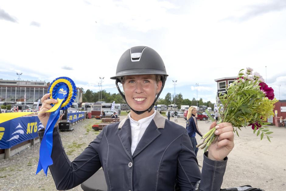 Alexandra Eriksson strålande kvalvinnare