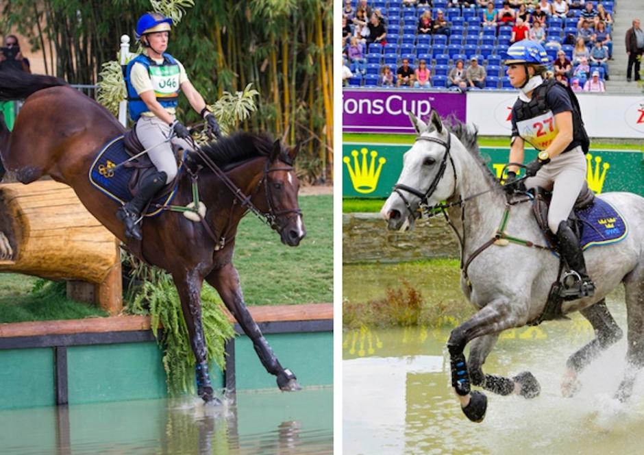 Sara Algotsson Ostholts båda OS-ston är dräktiga