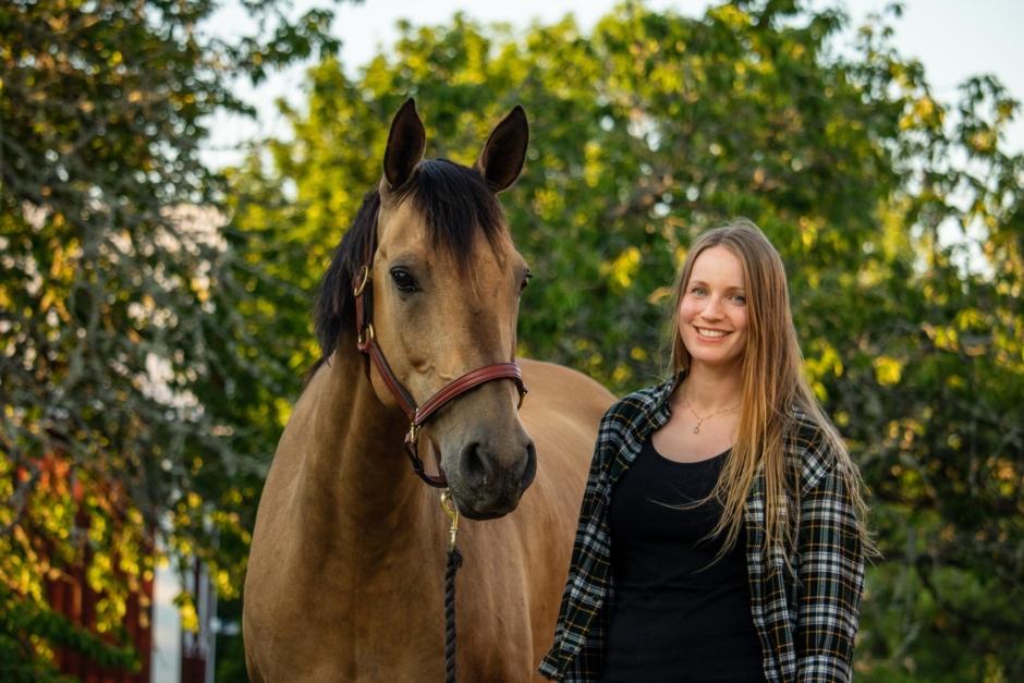 """Etologen: """"Det går att träna hästar att acceptera veterinärvård"""""""