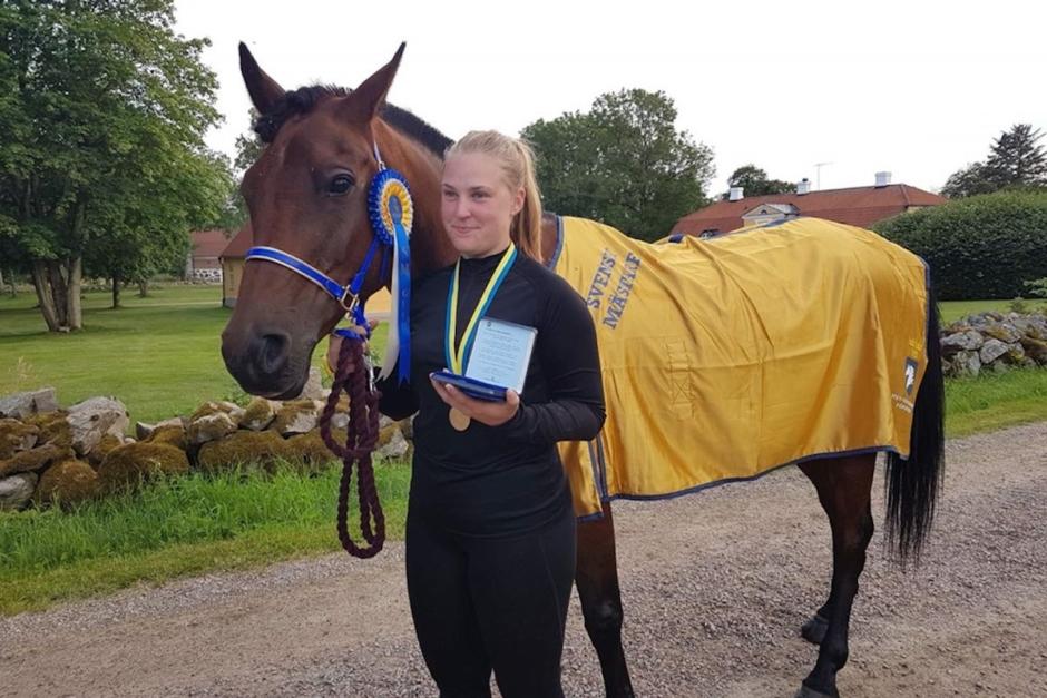 Sara Henriksson svensk mästare