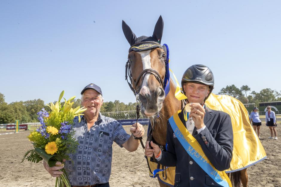"""Vinnaren av YRSM prisar sin häst: """"Hon är fantastisk"""""""