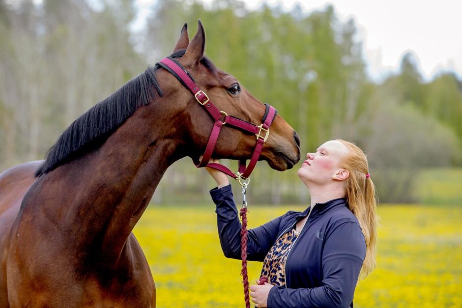 Muskelsjukdom blev slutet för Lindas häst