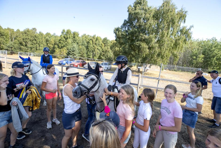 "B-ponnysegraren Mathilda Hansson: ""Jag satsade på guld"""