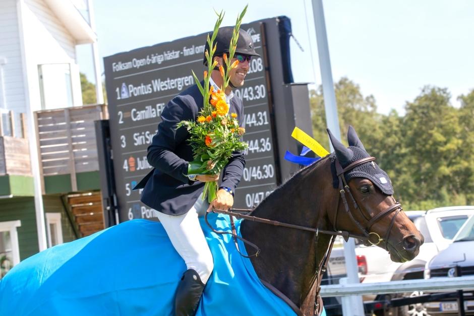Diabelle toppade 6-årsfinalen i Falsterbo