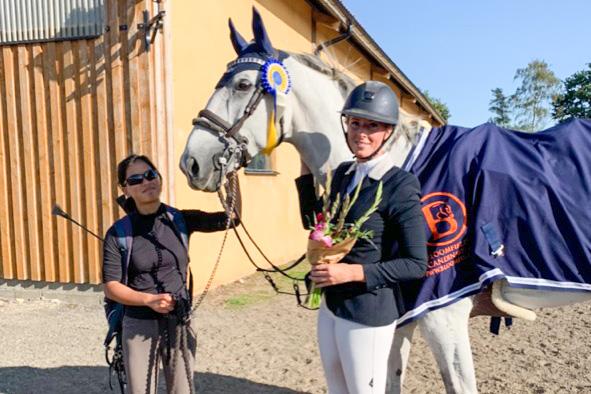 Sofia Kroon toppade i fredagens 1,50 på satsande tävlingsplats