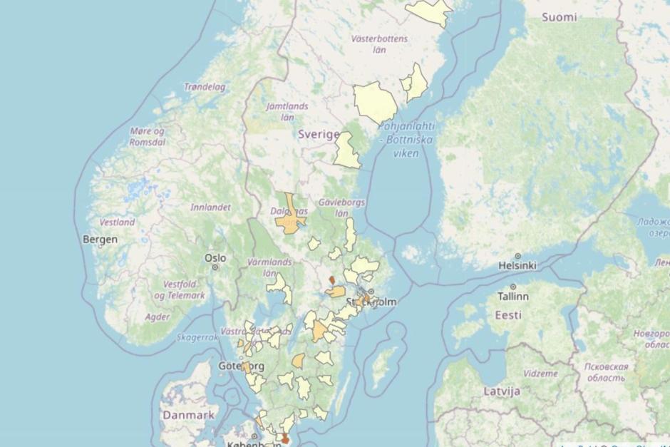 Kvarka i stall i Jönköpings län
