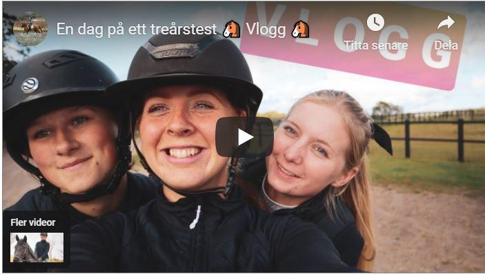 Sofie Relander: Vlogg från en dag på treårstest