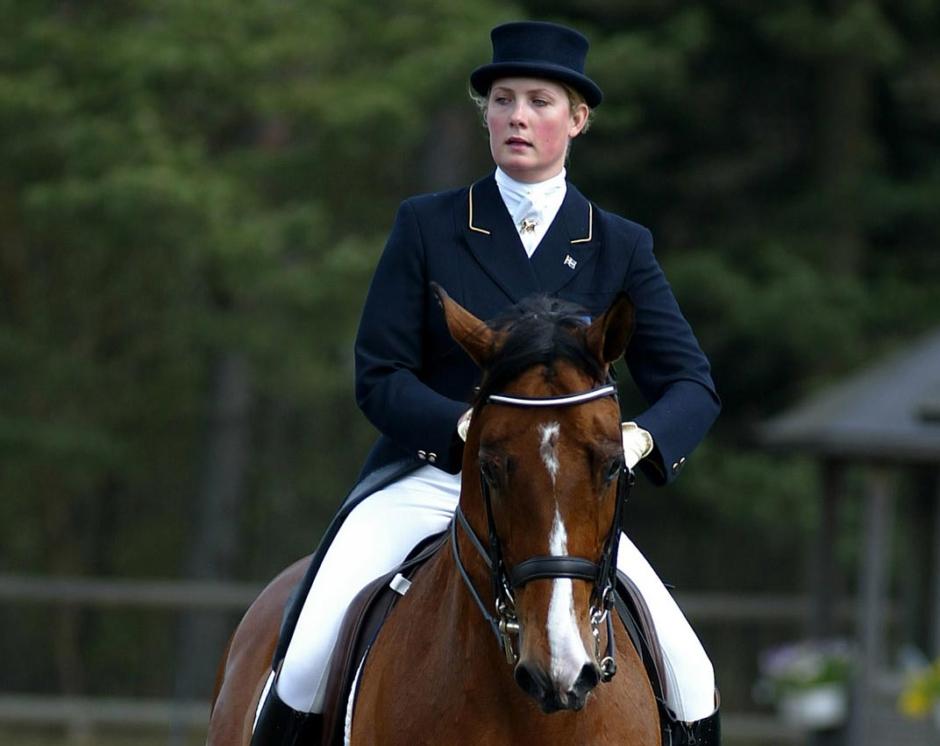 Emelie Brolins mästerskapshäst har fått somna in