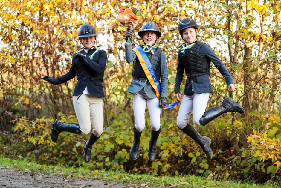 De är svenska mästare i inverkansridning