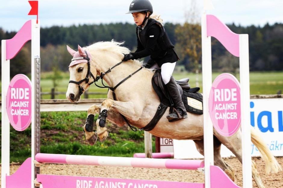 """Ride against cancer: """"Tyvärr försvinner inte cancer för att corona kom"""""""