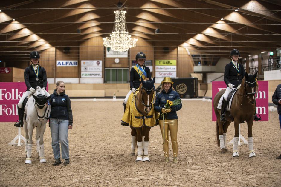 Bildfest: Häng med till ponny-SM i dressyr