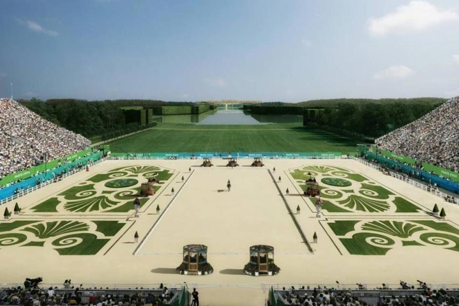 Historisk miljö omger OS-arenan i Paris