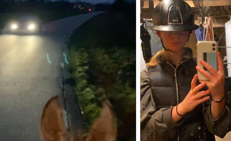Kolla klippet: Hopptjejen som fick nog av vårdslösa bilister