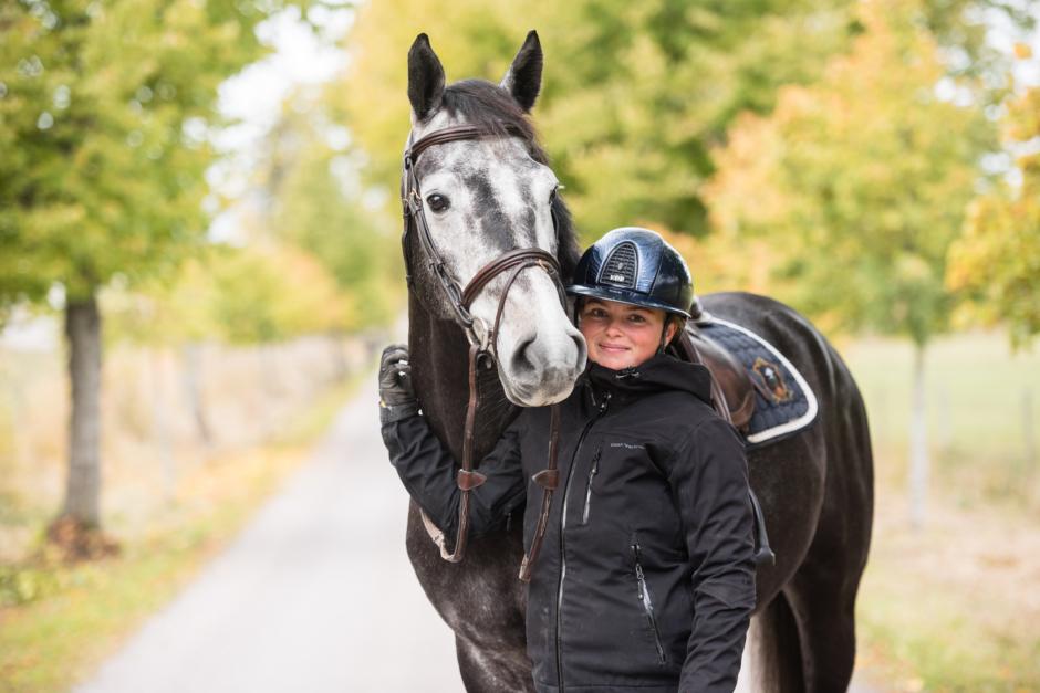 """Kristinas blogg: """"Det faller sig sällan naturligt för en hästmänniska att stå sysslolös"""""""