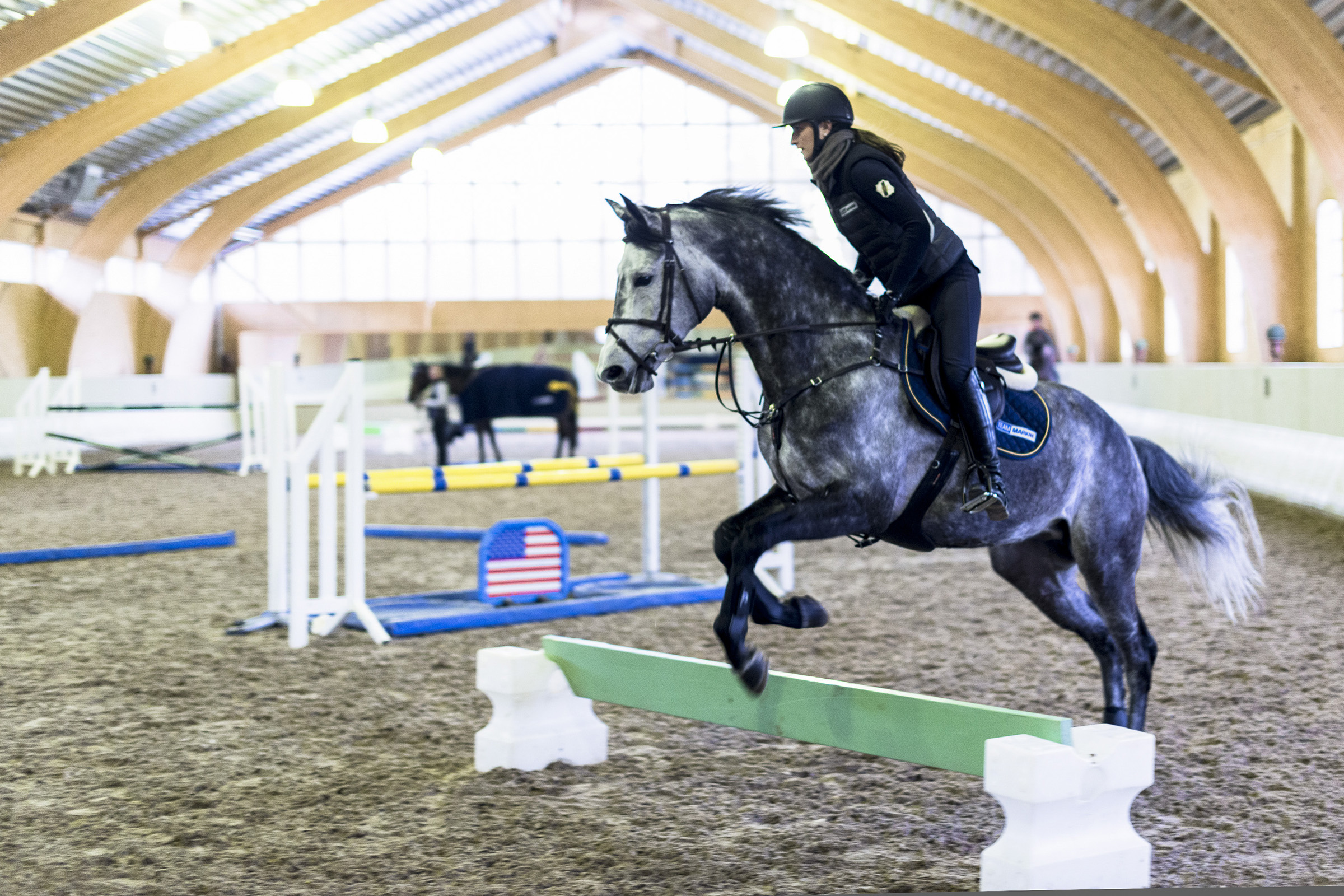 P: 2016-08 Hoppning Med Pether MarkneCavaletti