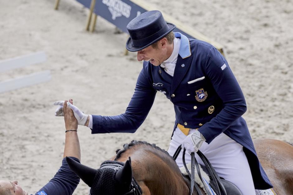 Patrik Kittel tar över Helgstrands OS-häst