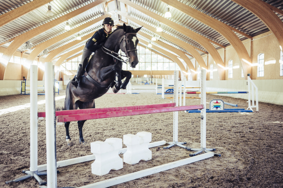 """Pether Markne: """"Ge hästen och träningen tid"""""""
