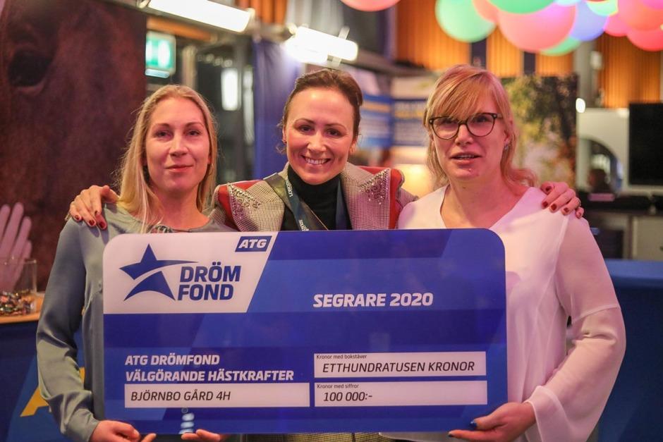 Ansökan öppen till ATG Drömfond – 100 000 kronor till hästprojekt