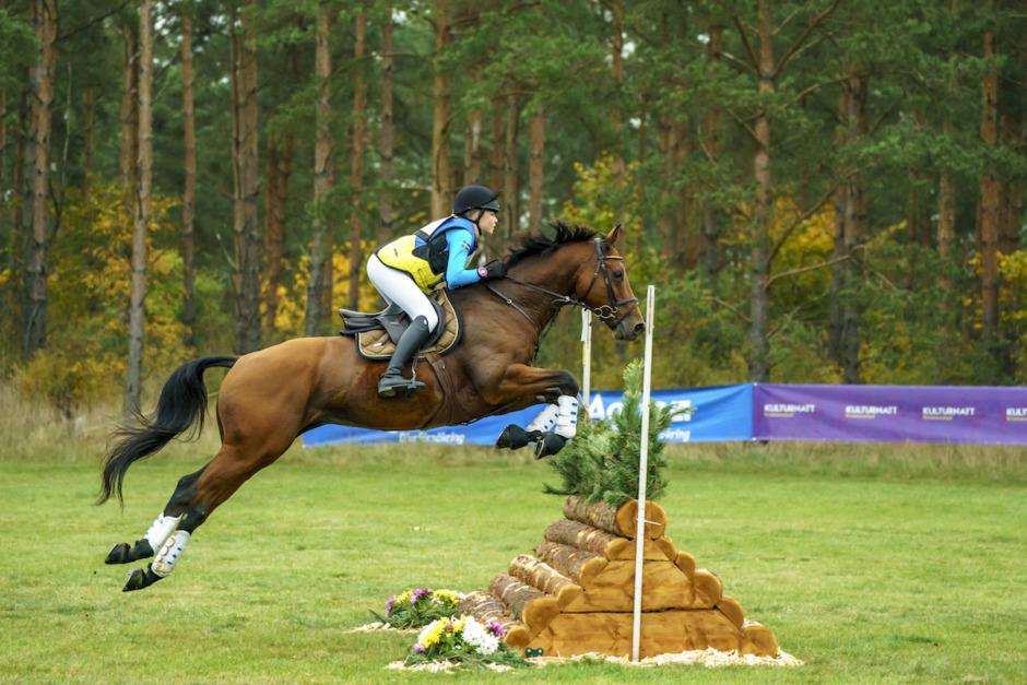 VM-häst till junioren Wilma Nyhlén