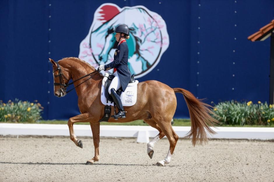Charlotte Dujardin har valt OS-häst