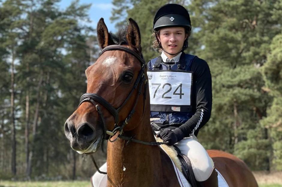 OS-hästen Chippieh blir läromästare åt Gustaf Lidbeck