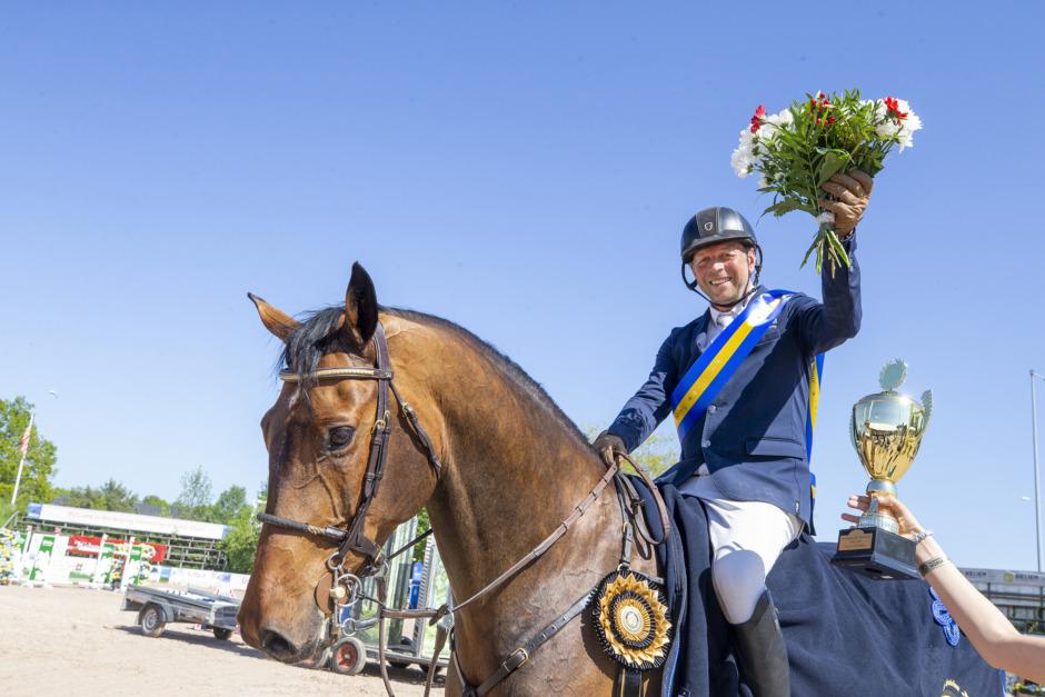 Jens Fredricson 1,50-segrare i Norrköping – ensam dubbelnolla