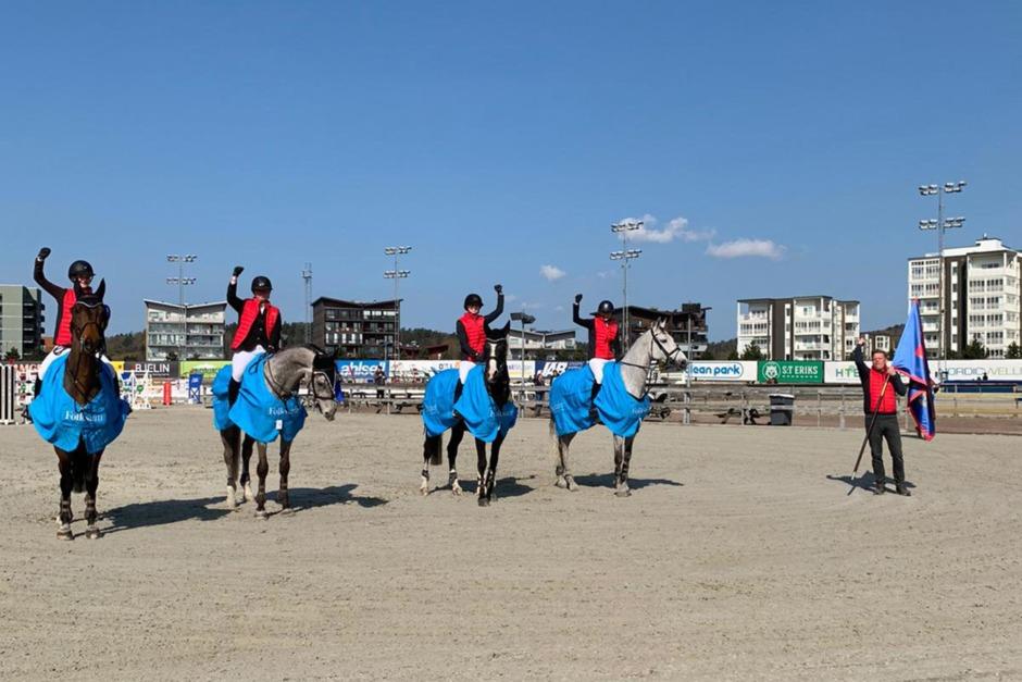 Nääs Hästsportförening toppade Västra zonen dubbelt upp