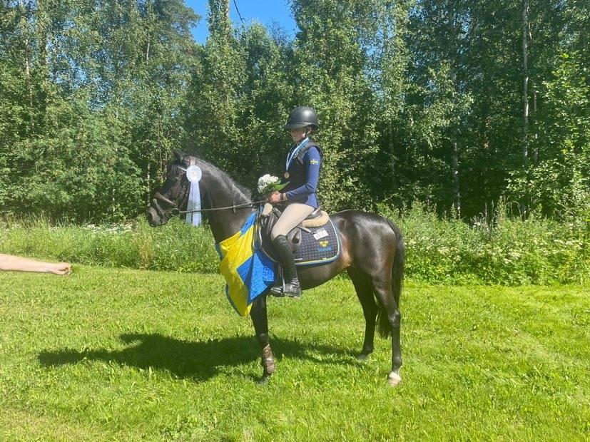 Individuella NM-medaljer till både ponny och children
