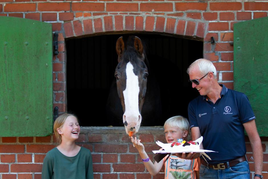 Jan Brink firade Briar på 30-årsdagen