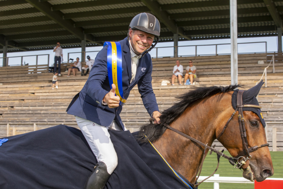 Jens Fredricson hoppade hem finalen i 7-Star