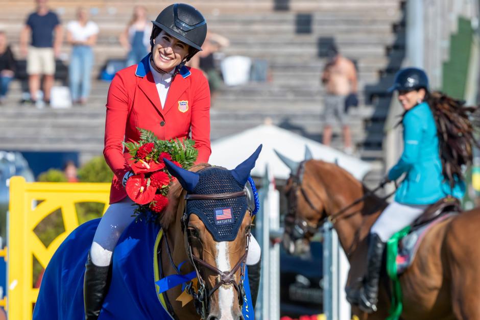 Springsteens svenska hästskötare laddar för OS