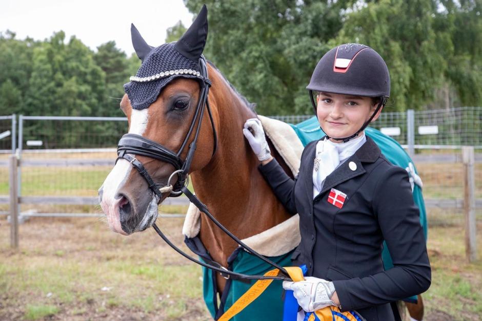 Dansk seger i ponnyernas kürfinal