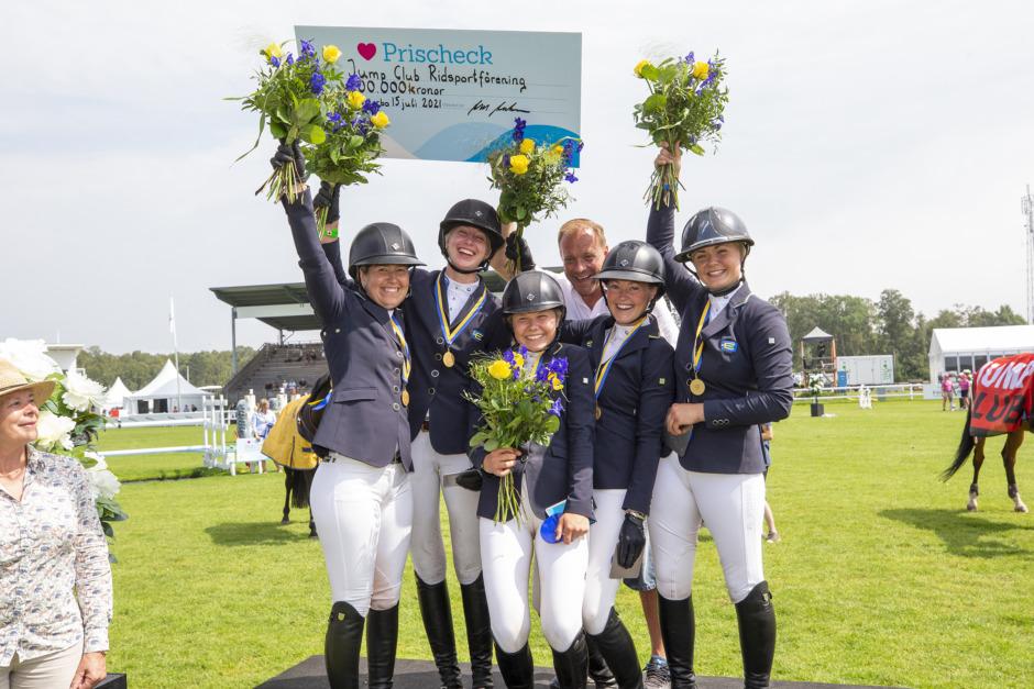 Historiskt SM-guld – Jump Clubs andra på samma år