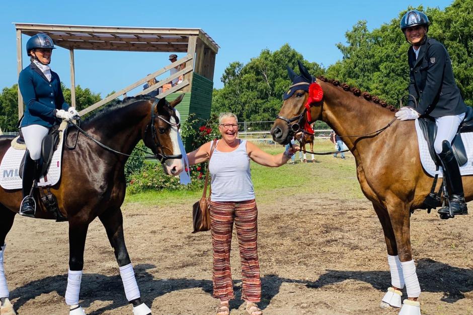 Nyströms hästar framgångsrika i Falsterbo