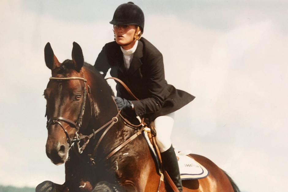 """""""En fantastisk känsla att vinna ett mästerskap på en egenuppfödd häst"""""""