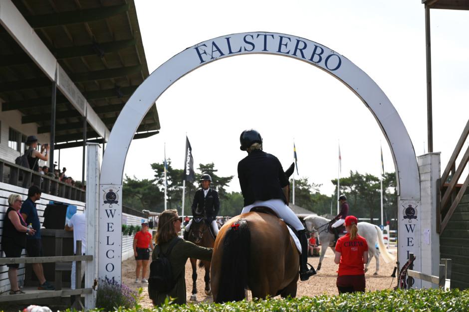 Falsterbo Horse Show från insidan